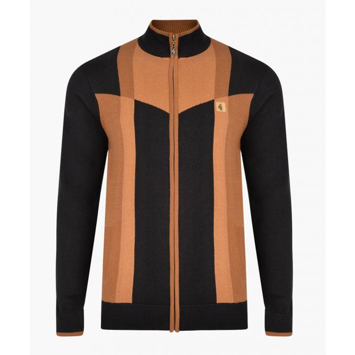 Image for Navy cotton blend jumper