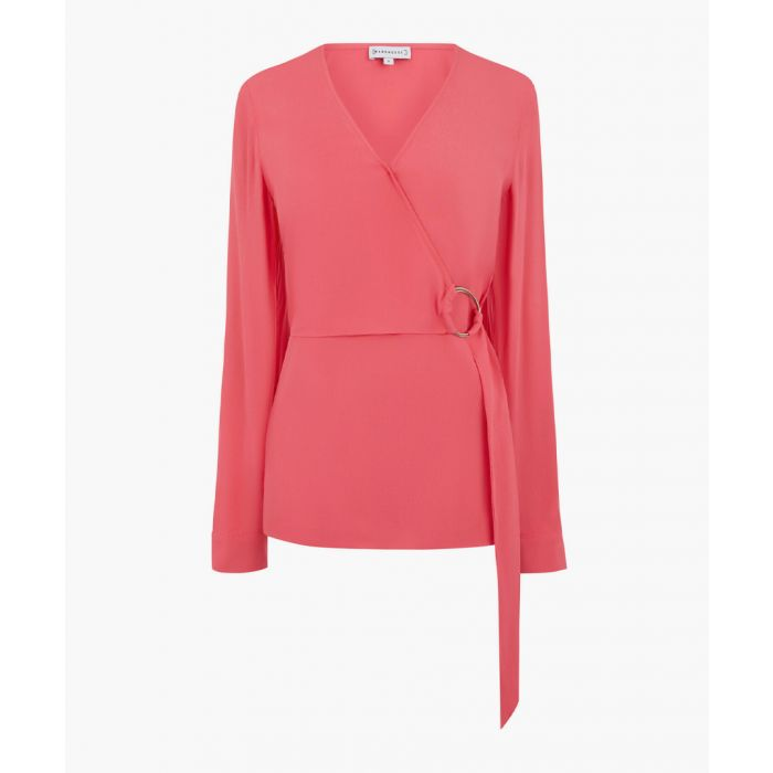 Image for Bright pink o-ring wrap top
