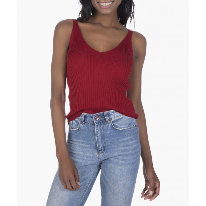 Image for Bordeaux cotton blouse