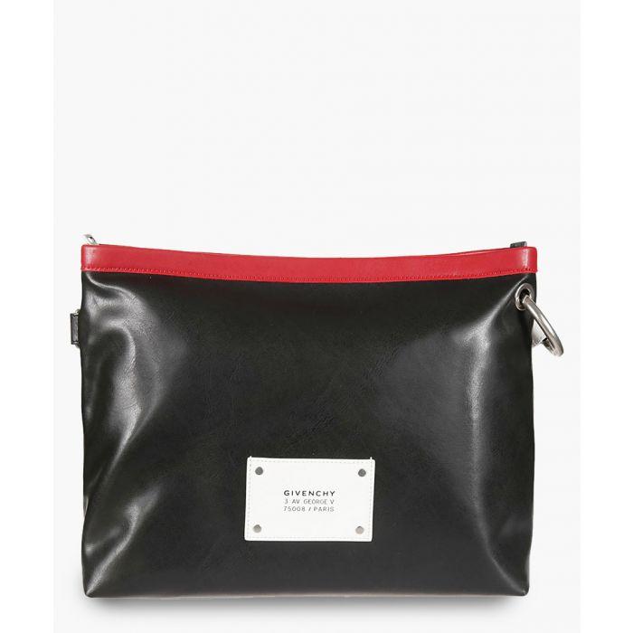 Image for givenchy logo shoulder bag