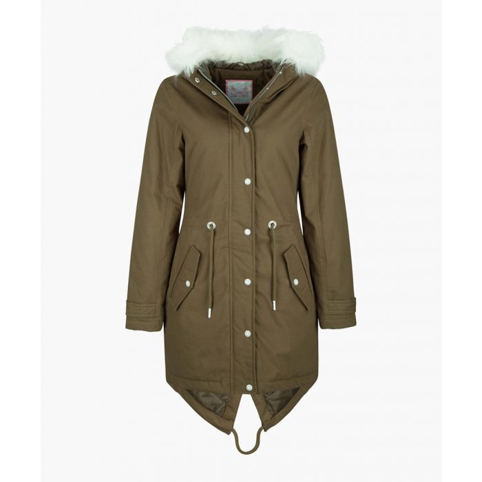 Image for Olive parka