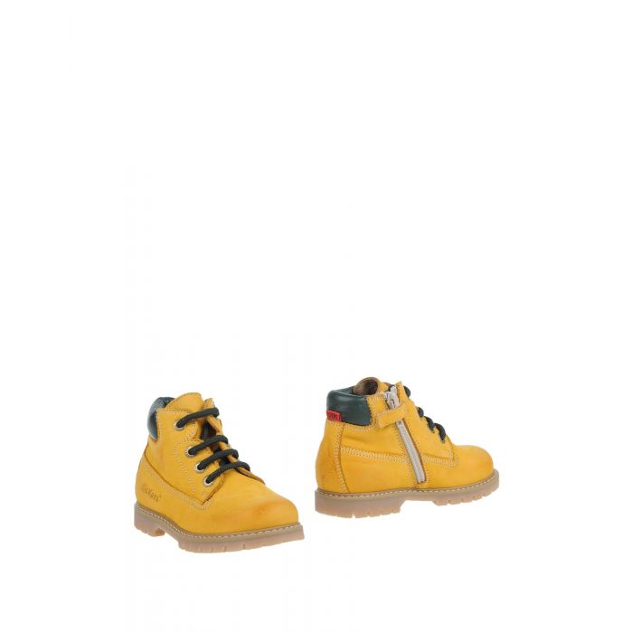 Image for Ocher leather ankle boots