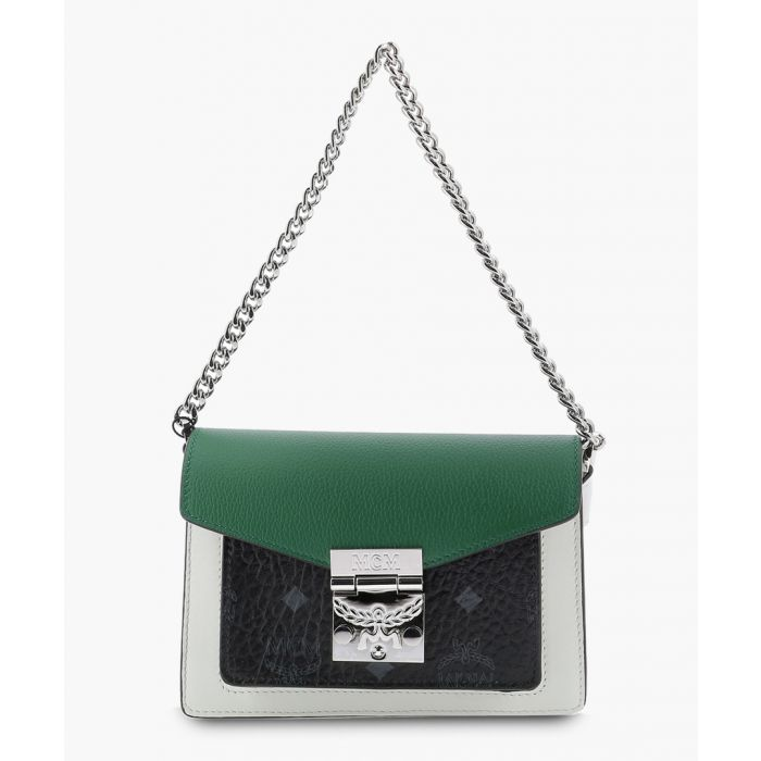 Image for Patriciamulti-coloured leather colour block crossbody