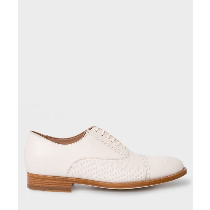 Image for Off-white leather brogues