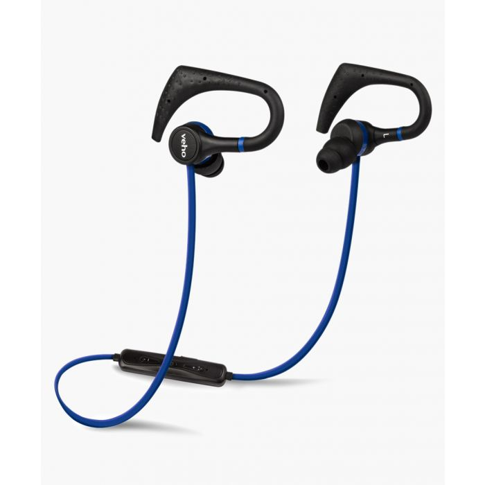 Image for Blue in-ear sports wireless bluetooth headphones