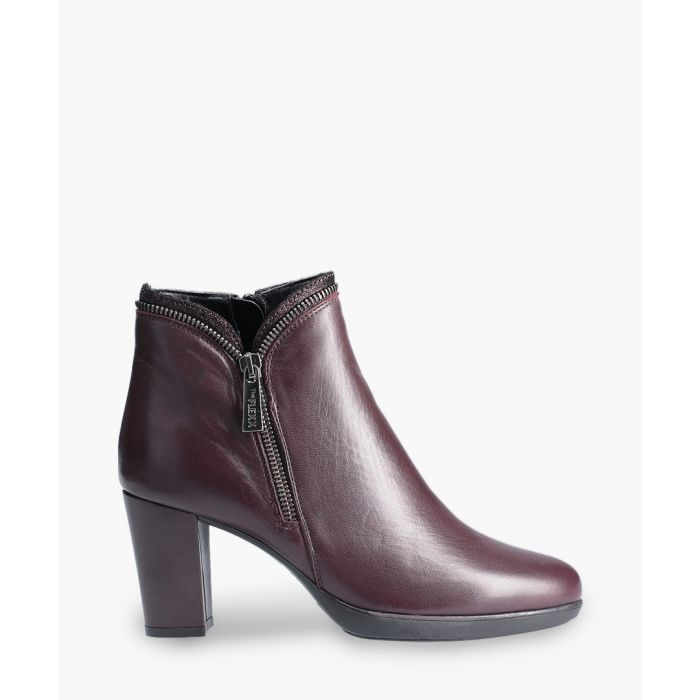Image for Burgundy ankle boots