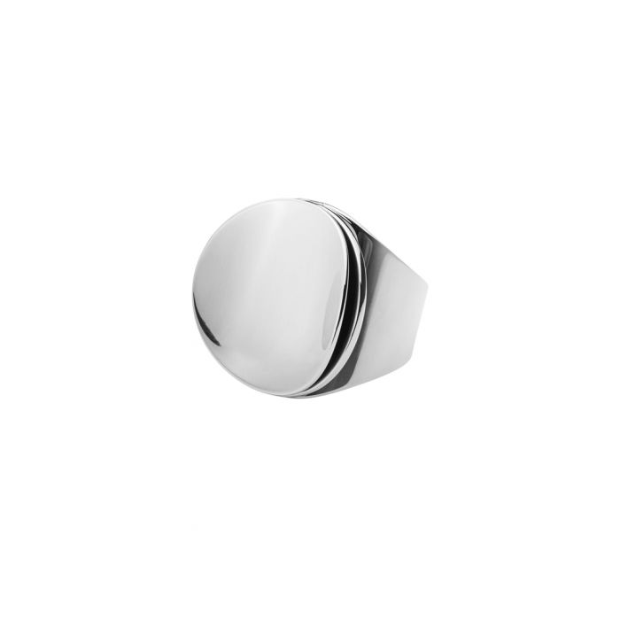 Image for Orbita silver-tone steel ring
