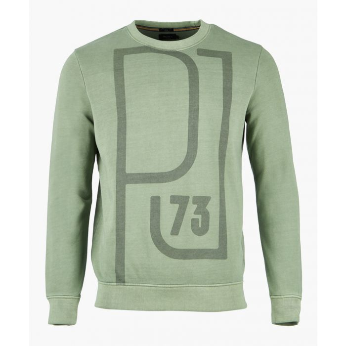 Image for Forest khaki graphic sweatshirt