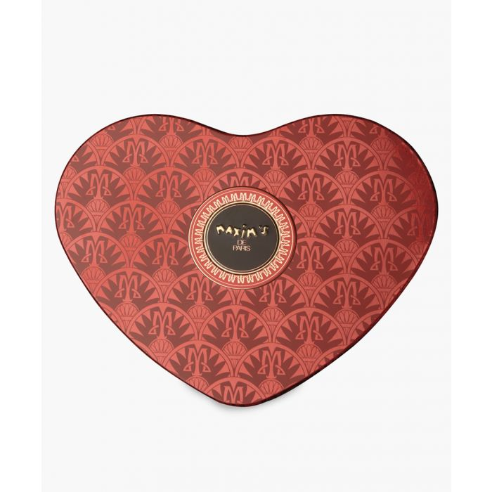 Image for Milk chocolates and nougat red heart tin
