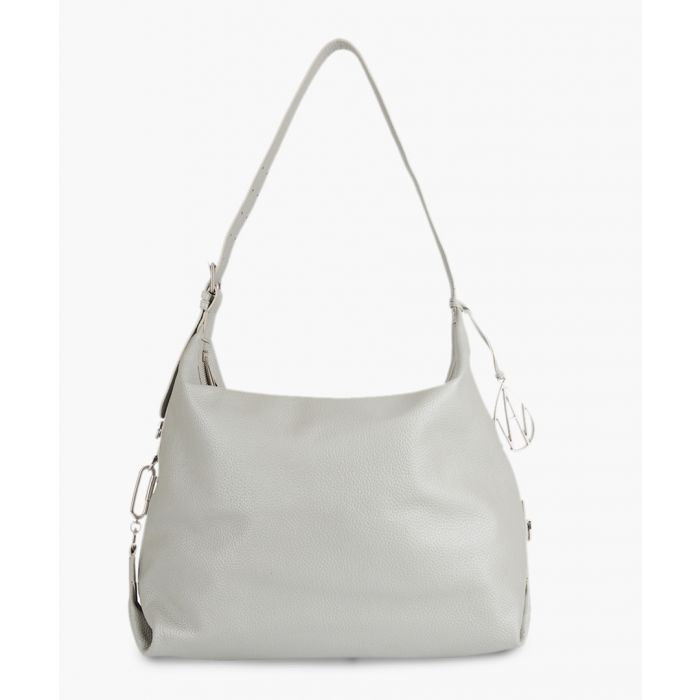 Image for Costner silver-tone leather shoulder bag