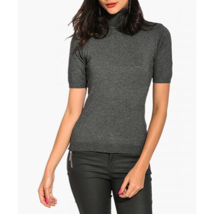 Image for Grey cashmere blend jumper