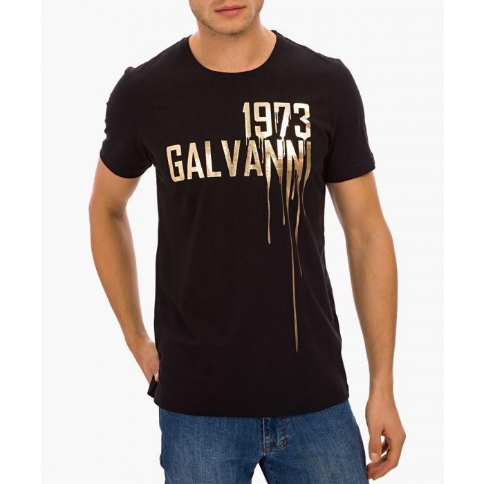 Image for Black cotton T-shirt