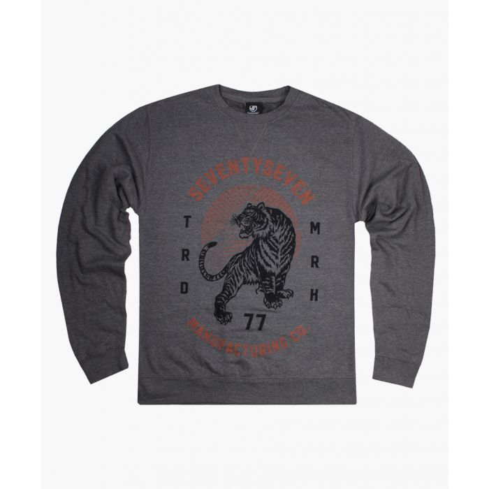 Image for Grey crew neck sweater