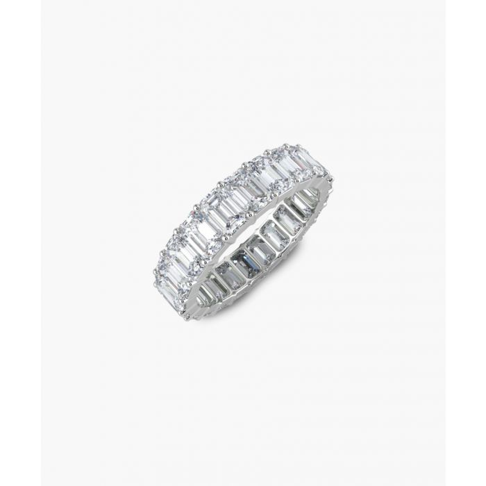 Image for Platinum and 4.00ct diamond full eternity ring