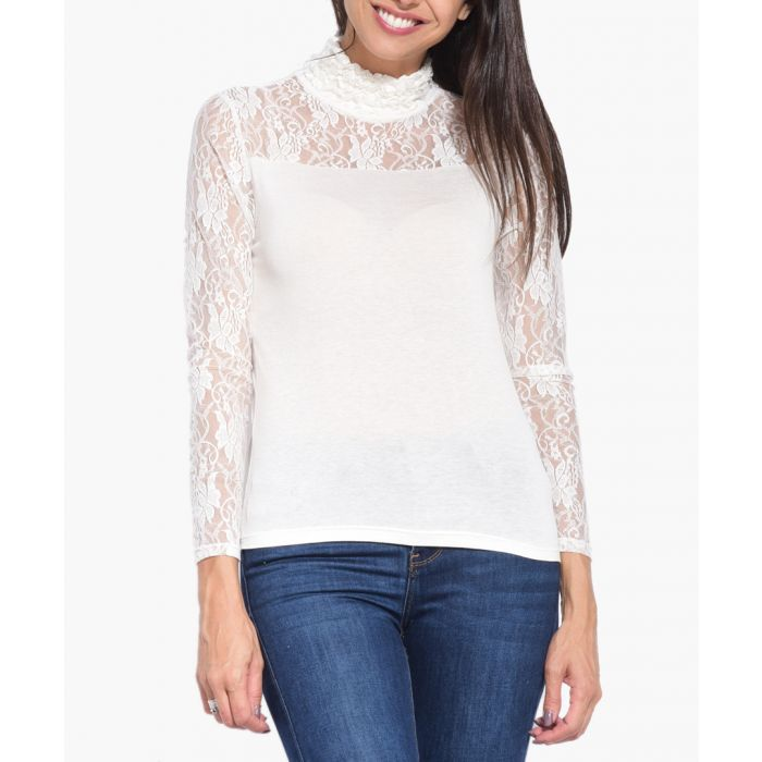 Image for Ivory silk blend T Shirt