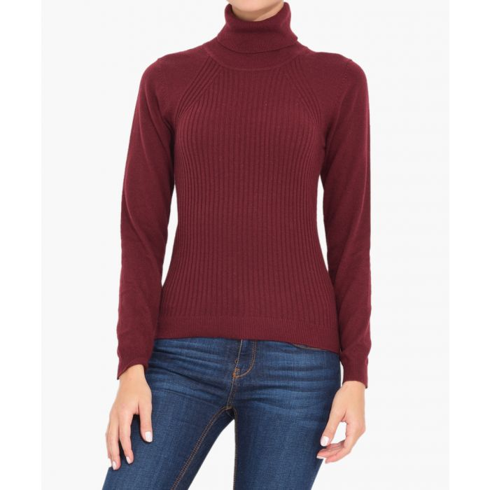 Image for Bordeaux cashmere blend jumper