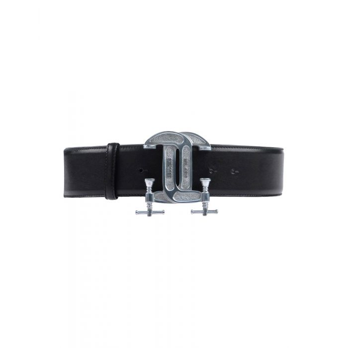 Image for Black leather belt