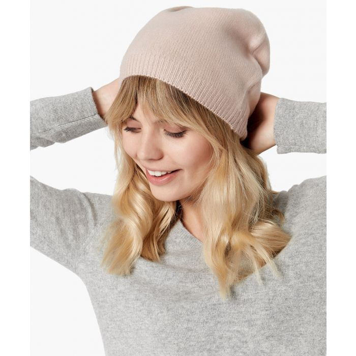 Image for Rose pure cashmere hat