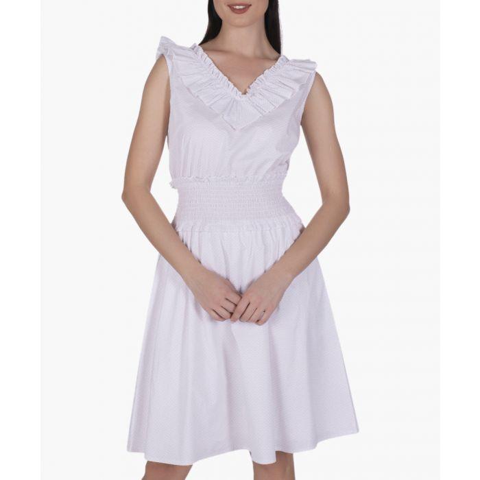 Image for Multi-coloured cotton dress