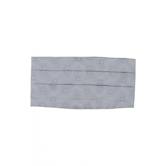 Image for Grey silk belt