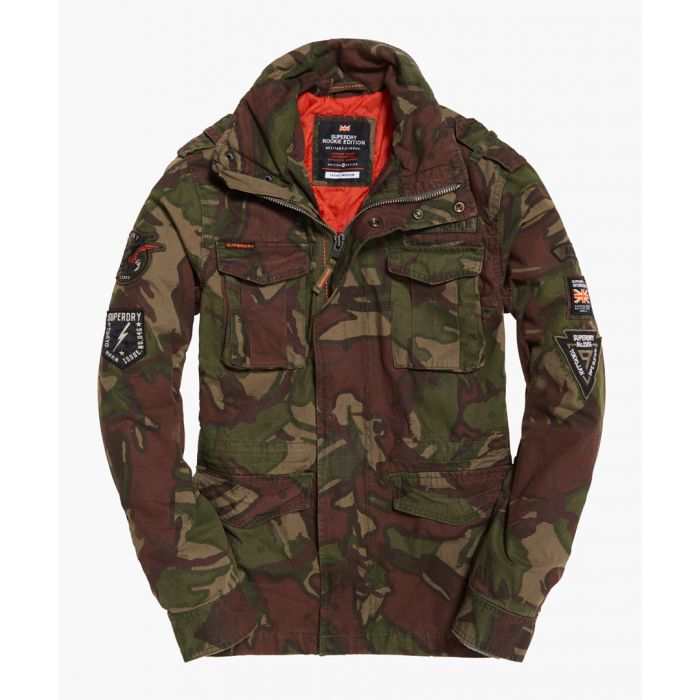 Image for SuperdryHERO ROOKIE MILITARY JACKET