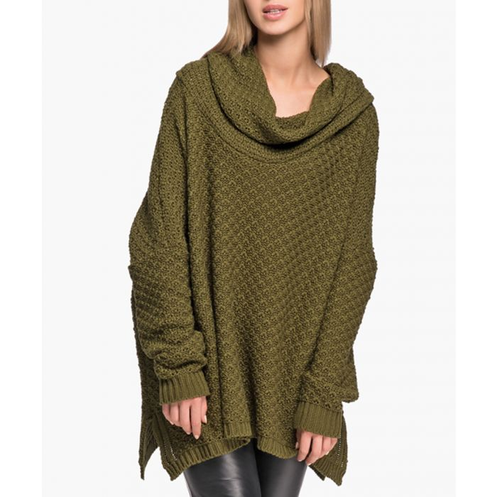 Image for Khaki knitted sweater