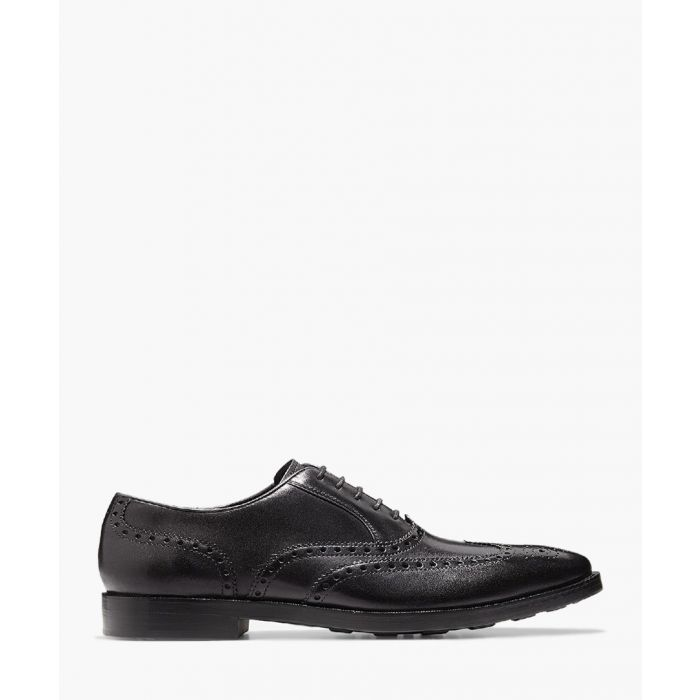 Image for Mens black Oxford shoes