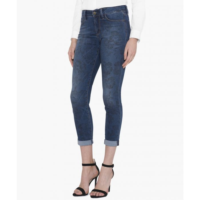 Image for Alina ankle lanai printed jeans
