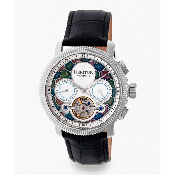 Image for Heritor Automatic Aura black watch