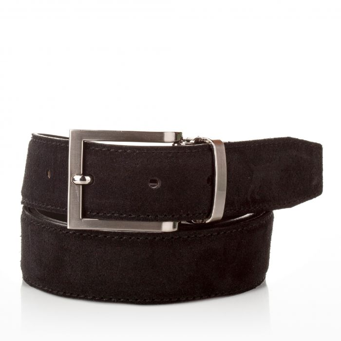 Image for Mens black leather belt