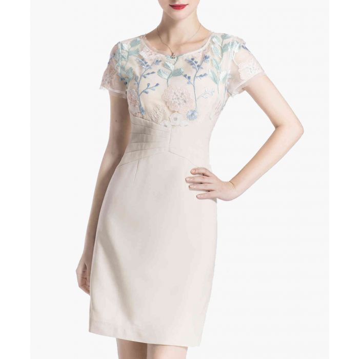 Image for Apricot embroidered mini dress