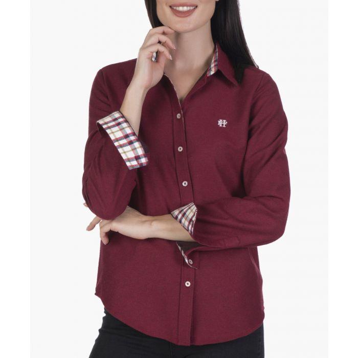 Image for Bordeaux cotton shirt