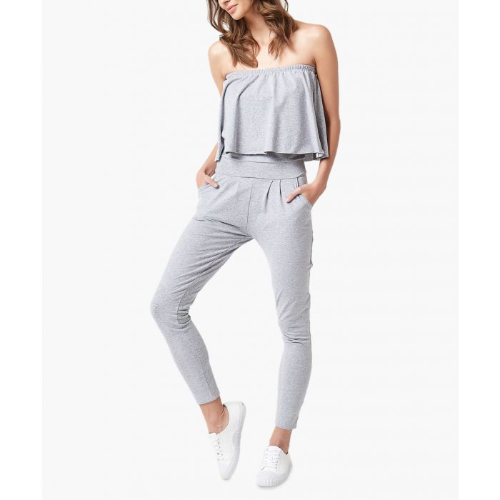 Image for Light grey woven overalls
