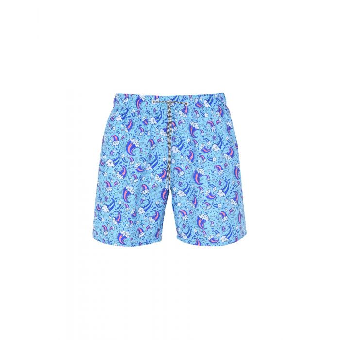 Image for Boardies Turquoise Polyester Boxer da mare