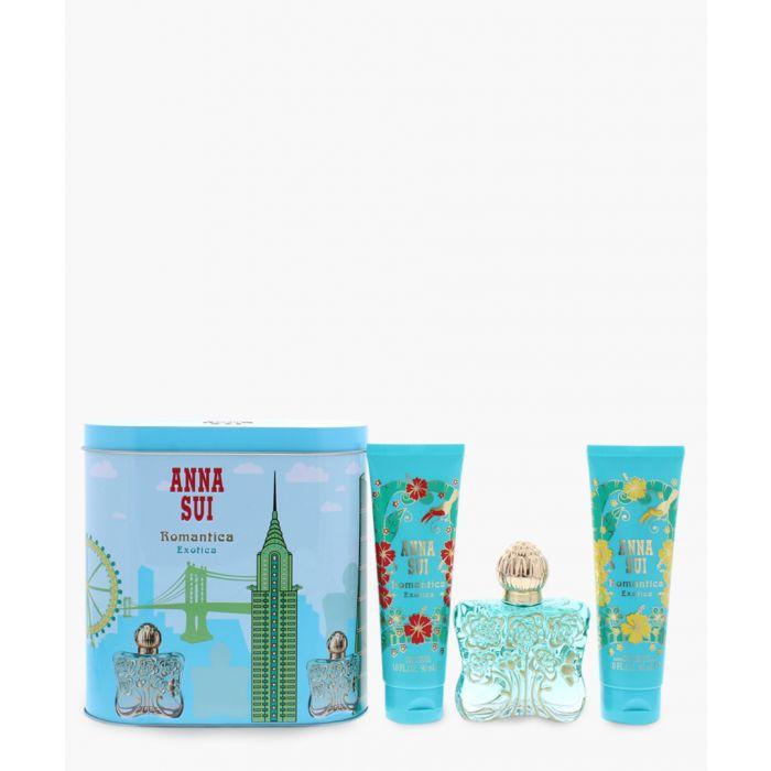 Image for 3pc Romantica exotica eau de toilette 50ml and body lotion 100ml and shower gel
