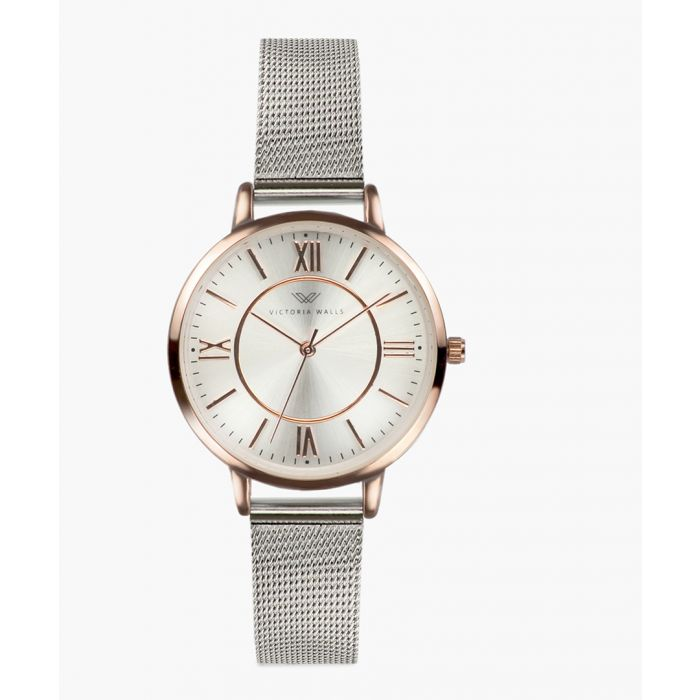 Image for Veronica stainless steel analogue watch