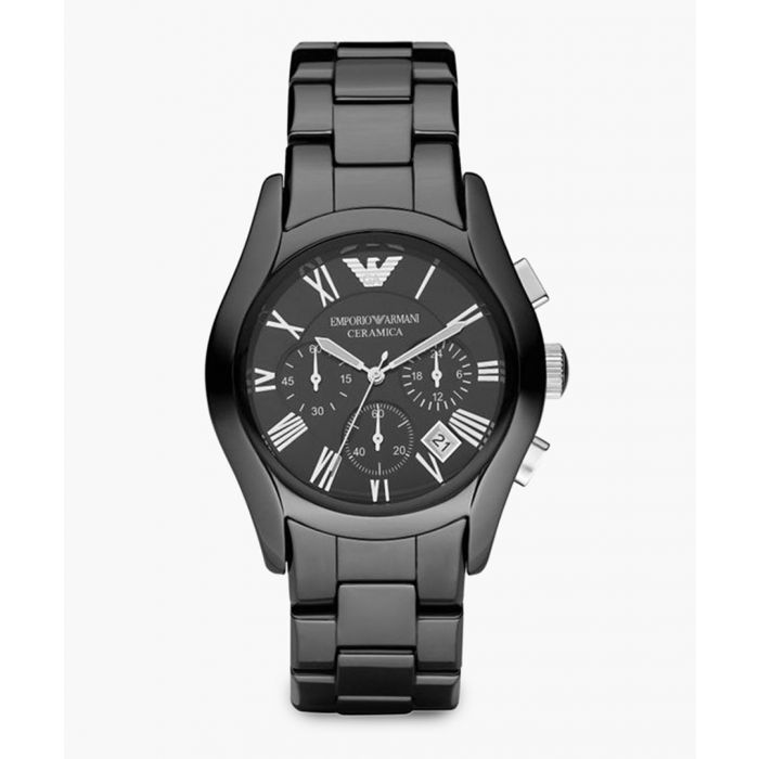 Image for AR1400 ceramic and stainless steel cronograph watch