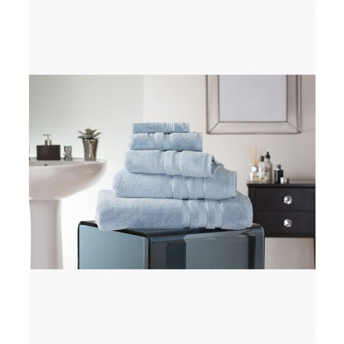 Image for Azure Turkish pima cotton bath sheet