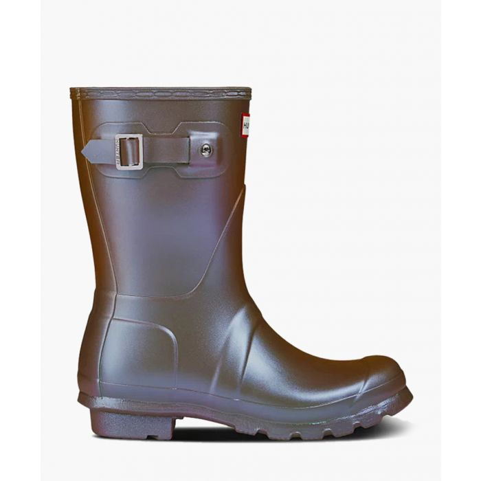 Image for Metallic short boots