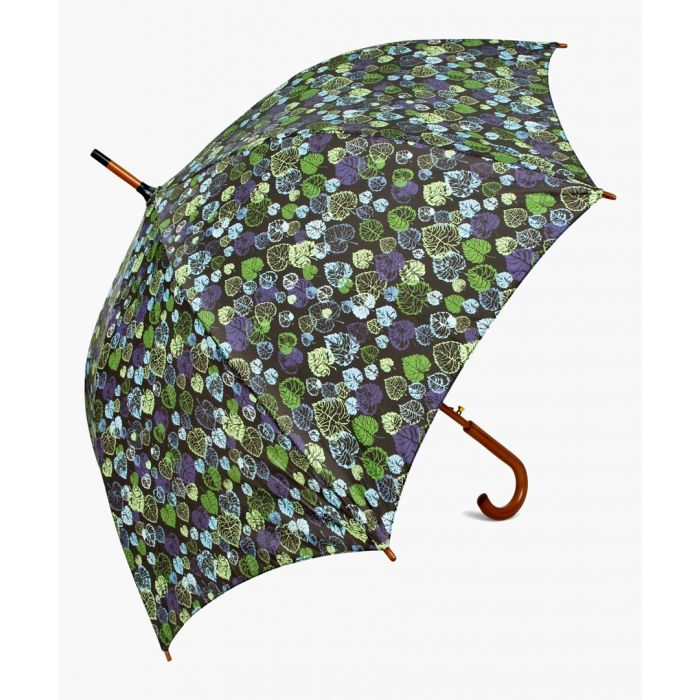 Image for Leaf green printed umbrella