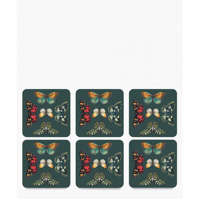 Image for 6pc Botanic Garden Harmony coasters
