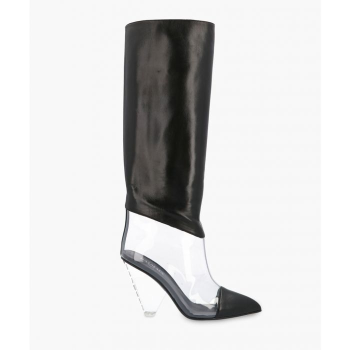 Image for Lisy black leather boots