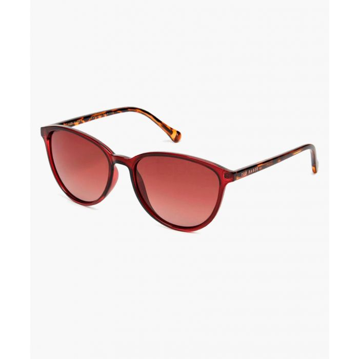 Image for Tierney burgundy sunglasses