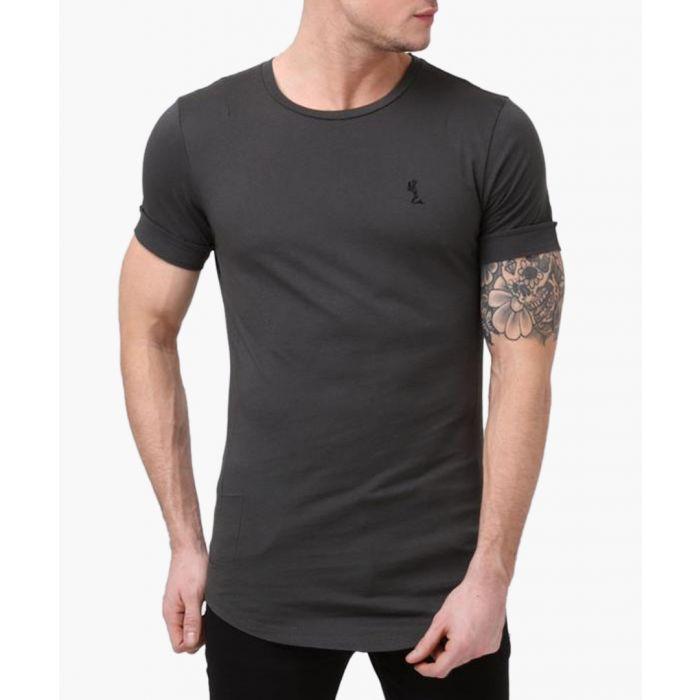 Image for Dark metal plain ss crew neck T-shirt