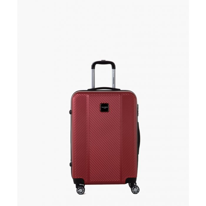 Image for Red spinner suitcase