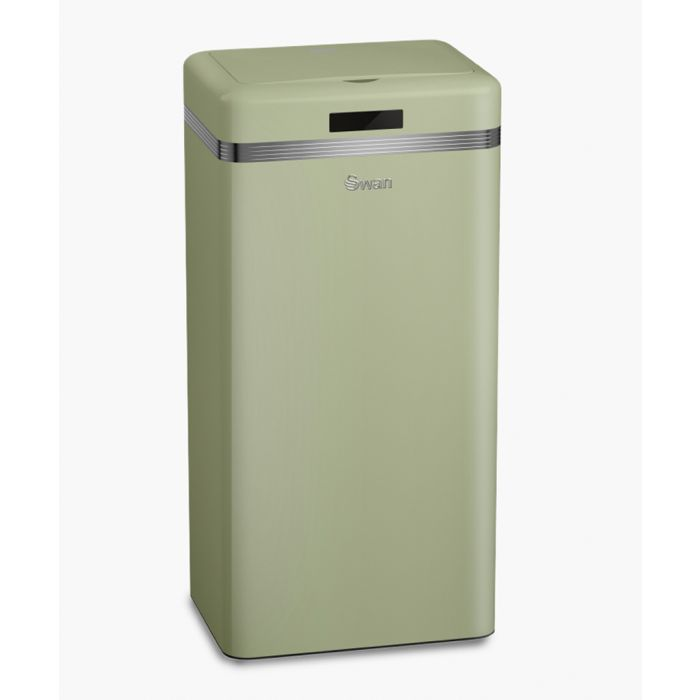 Image for Retro green square sensor bin 45L