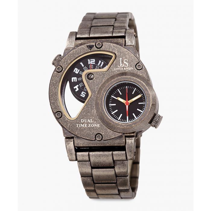 Image for Antique-finish stainless steel watch