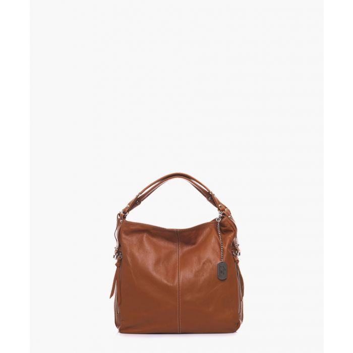 Image for Ingrid caramel shoulder bag