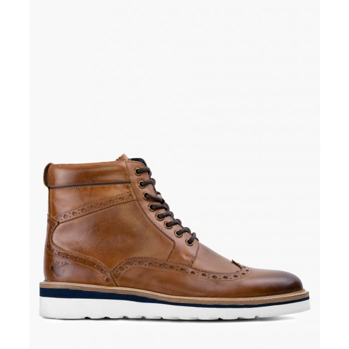 Image for Tan leather boots