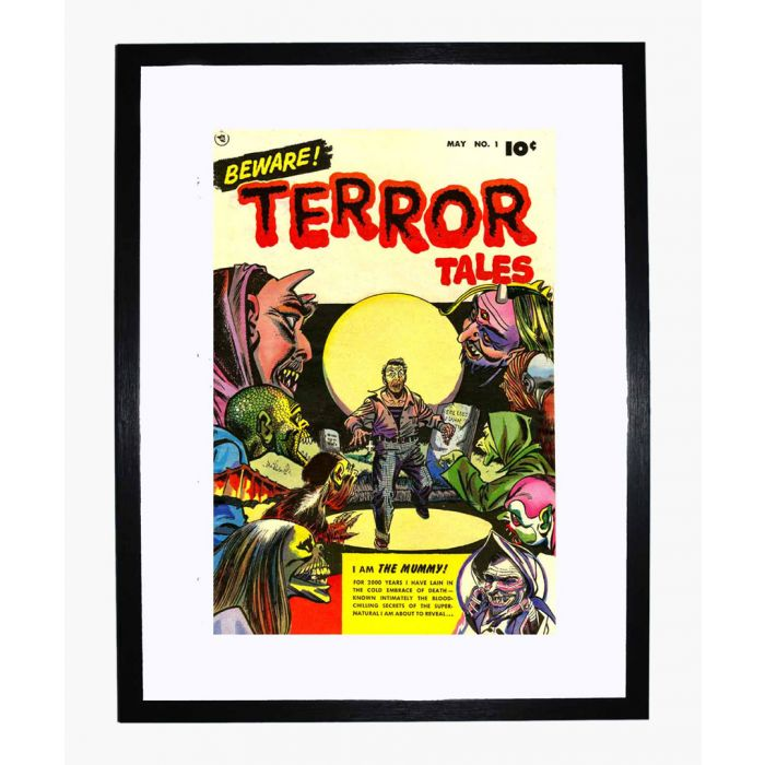 Image for Beware Terror Tales 01 framed print